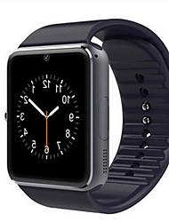 Недорогие -Муж. Жен. Спортивные часы Смарт Часы электронные часы Кожа Черный / Красный Bluetooth Календарь Светящийся Цифровой На каждый день Квадрат Мода - Черный Серебряный Красный