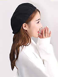 cheap -Unisex Work Casual Cotton Beret Hat Floppy Hat Sun Hat Newsboy Cap Baseball Cap - Solid Colored