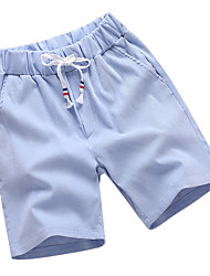 abordables -Hombre Deportivo Tallas Grandes Algodón Delgado Shorts Chinos Pantalones - Un Color
