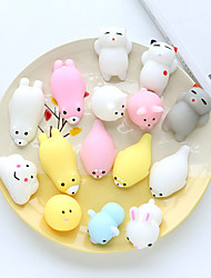 Недорогие -Резиновые игрушки Товары для офиса Стресс и тревога помощи Декомпрессионные игрушки Животные Взрослые