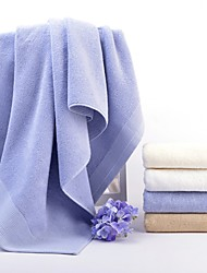 cheap -Superior Quality Bath Towel / Bath Towel Set, Solid Colored 100% Cotton Bathroom 2 pcs