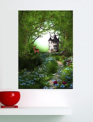 abordables -Animales Floral/Botánico Pegatinas de pared Calcomanías de Aviones para Pared Calcomanías 3D para Pared Pegatinas de pared de animales