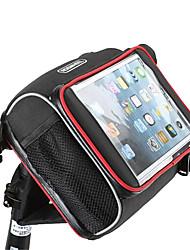Недорогие -ROSWHEEL Сотовый телефон сумка / Бардачок на руль / Сумка 5.7 дюймовый Сенсорный экран Велоспорт для iPhone 8 Plus / 7 Plus / 6S Plus / 6 Plus / iPhone X / Samsung Galaxy S8 / S7 / Note 7 Черный