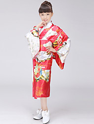 Cosplay Dress / Japanese Traditional Kimono Womenu0027s Festival / Holiday Halloween Costumes Blue / Pink / Red Floral / Botanical Kimonos  sc 1 st  LightInTheBox : kimono halloween costumes  - Germanpascual.Com