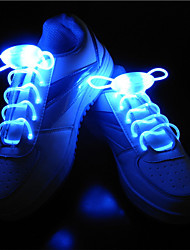cheap -BRELONG® 1 Pair Luminous Shoelaces Button Battery Powered Creative Novelty Decoration