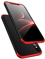 cheap -Case For Apple iPhone X Shockproof Ultra-thin Full Body Cases Solid Color Hard Plastic for iPhone X iPhone 8 Plus iPhone 8 iPhone 7 Plus
