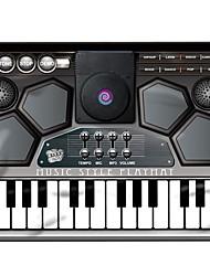 Недорогие -Музыкальная игрушка Музыкальное одеяло Игрушки голос Квадратный Пианино Музыкальные инструменты силикагель 1 Куски Детские Подарок