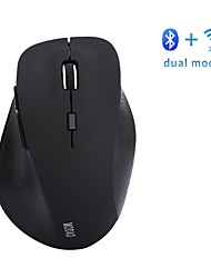 cheap -E1802 Wireless 2.4GHz Bluetooth4.0 Ergonomic Mouse Silent Mouse Office Mouse Gaming DPI Adjustable 800/1200/1600 6 AAA Batteries Powered