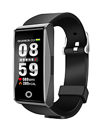 cheap -Smartwatch iOS / Android Heart Rate Monitor / Blood Pressure Measurement / Information Pedometer / Sleep Tracker / Alarm Clock / 120-150