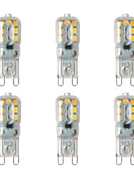 economico -BRELONG® 6pcs 2W 200lm G9 Luci LED Bi-pin 14 Perline LED SMD 2835 Bianco caldo Bianco 220-240V
