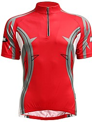 cheap -Jaggad Short Sleeves Cycling Jersey - Red Bike