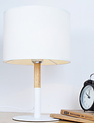 billiga -Traditionell/Klassisk Dekorativ Bordslampa Till Metall 220-240V Vit Svart