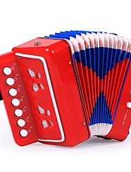 Недорогие -Аккордеон Игрушки Искусство Музыка Квадратный Музыкальные инструменты Пластик Нетканая 1 Куски Детские Подарок
