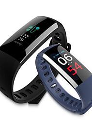 abordables -G19 Bracelet à puce iOS Android Ecran Tactile Calories brulées Pédomètres Suivi de distance Mesure de la pression sanguine Accéléromètre