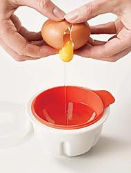 Недорогие -Кухонные принадлежности Пластик Для микроволновой печи / Творческая кухня Гаджет Инструменты сделай-сам Для Egg / Для приготовления пищи Посуда 1шт