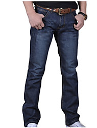 cheap -Men's Cotton Jeans Pants - Solid Colored Modern Style / Weekend