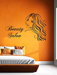 economico -Adesivo Adesivi decorativi da parete - Adesivi murali persone Caratteri Riposizionabile Rimovibile