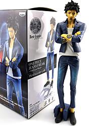 economico -Figure Anime Azione Ispirato da One Piece Trafalgar Law PVC 22 cm CM Giocattoli di modello Bambola giocattolo