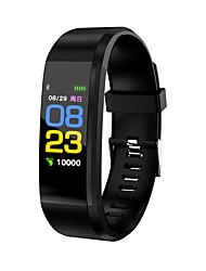 cheap -Smart Bracelet Heart Rate Monitor Pedometers Call Reminder Message Reminder Pedometer Fitness Tracker Activity Tracker Sleep Tracker