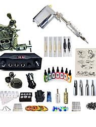 Недорогие -Татуировочная машина Набор для начинающих - 1 pcs татуировки машины с 7 x 15 ml татуировки чернила, Переменные скорости, Для