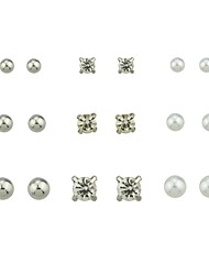 cheap -Women's Stud Earrings - Fashion Gold / Silver For Gift / Date