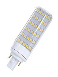 cheap -SENCART 1pc 5.5W 580-650lm G24 LED Bi-pin Lights T 30 LED Beads SMD 5050 Decorative Warm White / White 85-265V / 12V