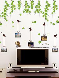 Недорогие -Декоративные наклейки на стены Фото наклейки - Простые наклейки Арабеска Гостиная Спальня Ванная комната Кухня Столовая Кабинет / Офис