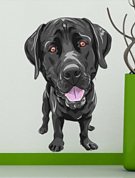 baratos -Decalque Autocolantes de Parede Decorativos - Etiquetas de parede de animal Animais Reposicionável Removível