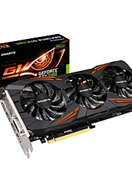 Недорогие -GIGABYTE Video Graphics Card GTX1080 МГц 10010 МГц 8 GB / 256 бит GDDR5X