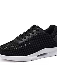cheap -Men's Tulle Summer Comfort Athletic Shoes White / Black