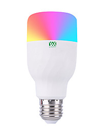 abordables -YWXLIGHT® 1pc 7W 600-700lm E26 / E27 Ampoules LED Intelligentes 22 Perles LED SMD 5730 Elégant Intensité Réglable Contrôle de l'APP