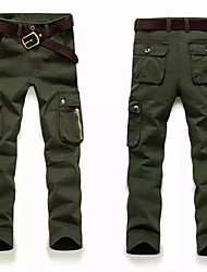 economico -Per uomo Pantaloni da escursione Esterno Indossabile, Fitness, Sci di fondo Autunno / Inverno Pantalone / Sovrapantaloni Attività