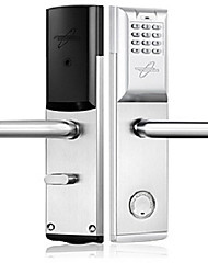 cheap -WAFU 803 Steel + Plastic Stainless Steel Intelligent Lock Smart Home Security Windows 7 System Indoor lock function Anti peeping password