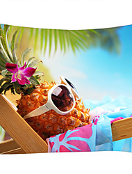 cheap -Beach Theme Food&Drink Wall Decor 100% Polyester Contemporary Modern Wall Art, Wall Tapestries Decoration