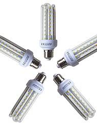 Недорогие -5 шт. 15W 1200lm E26 / E27 LED лампы типа Корн T 72 Светодиодные бусины SMD 2835 Тёплый белый 220-240V