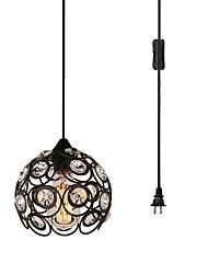 Недорогие -CXYlight Подвесные лампы Потолочный светильник - Хрусталь, 110-120Вольт / 220-240Вольт Лампочки не включены / 0-5㎡