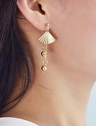 cheap -Women's Drop Earrings - Casual / Fashion Gold Circle / Shell Earrings For Daily / Date