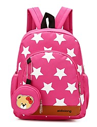 cheap -Unisex Bags Nylon Backpack Zipper for Casual Red / Dark Blue / Fuchsia