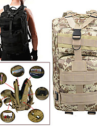 cheap -25 L Hiking Backpack - Rain-Proof, Wearable Outdoor Camping, Military, Travel Oxford Digital Jungle, Digital Desert, Python Mud Color