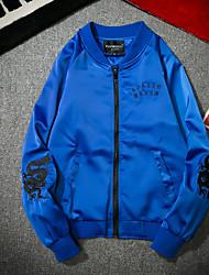Недорогие -Муж. Подростки Куртка Активный Классический-Человек