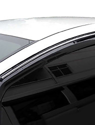 cheap -4pcs Car Deflectors & Shields Transparent Buckle Type / Paste Type For Car Window For Honda Fit 2013 / 2012 / 2011
