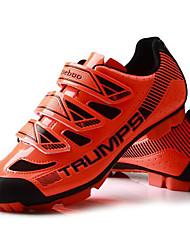baratos -Sapatos para Ciclismo Unisexo Anti-Escorregar Vestível Respirabilidade Malha Respirável Borracha Ciclismo de Estrada