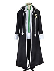 cheap -Inspired by Fairy Tail Gerard Fernandes Anime Cosplay Costumes Cosplay Suits Other Long Sleeves Coat Top Pants For Men's Women's
