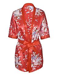 economico -Per donna Completi Uniformi e abiti tradizionali cinesi Indumenti da notte - Con stampe, Fantasia floreale
