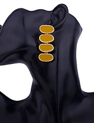 Недорогие -Серьги-слезки - Мода Пурпурный / Красный / Зеленый Назначение Подарок / Повседневные