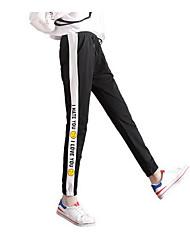 cheap -Women's Plus Size Cotton Harem Pants - Solid Colored Pleated