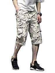 abordables -Homme Basique Short Pantalon Géométrique