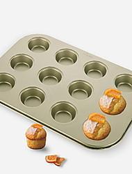 abordables -Outils de cuisine Carbone en alliage d'aluminium Solidité Résistant à la chaleur Pour Gâteau Moule de Cuisson 1pc