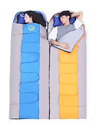 cheap -Sleeping Bag Outdoor Double Size -5-15°C Double Wide Bag Keep Warm Moistureproof Waterproof Portable Ultra Light (UL) Windproof Dust