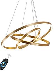 abordables -Ecolight™ Géométrique Lustre Lumière d'ambiance - Ajustable, Intensité Réglable, 110-120V / 220-240V, Blanc Crème / Blanc / Dimmable avec